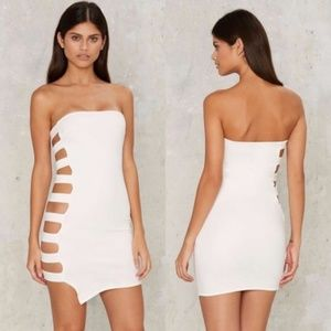 NWT Nasty Gal Beside Yourself Bodycon Dress
